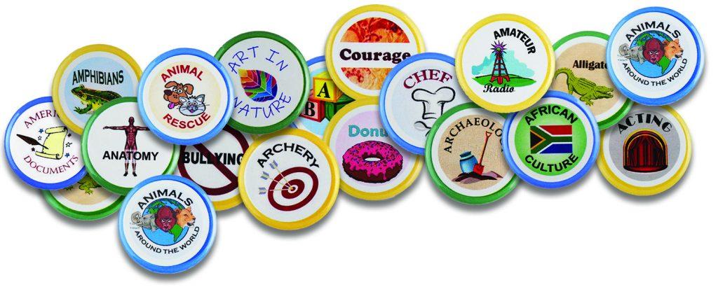 badges curiosity untamed
