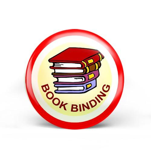 book binding badge image