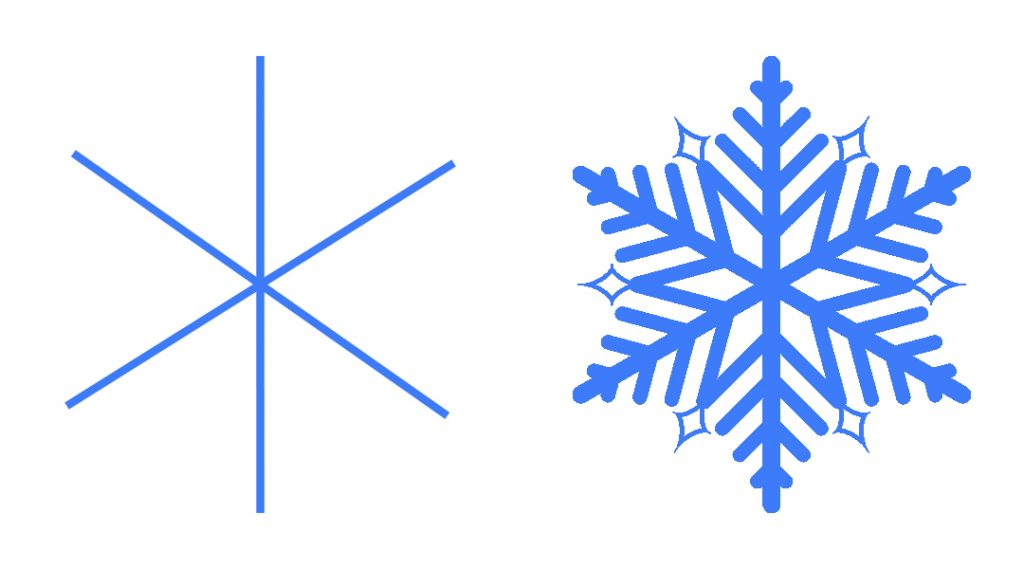 snow lesson plan snowflake template