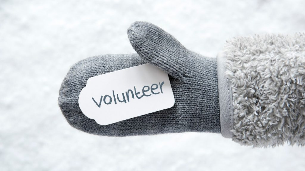 snow lesson plan volunteering