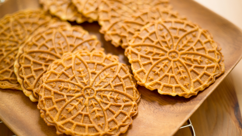 pizzelle waffle cookie