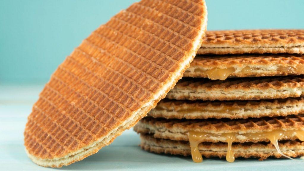 Stroopwafel cookies