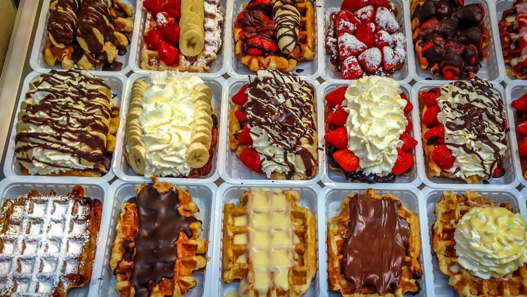 10 different types of waffles