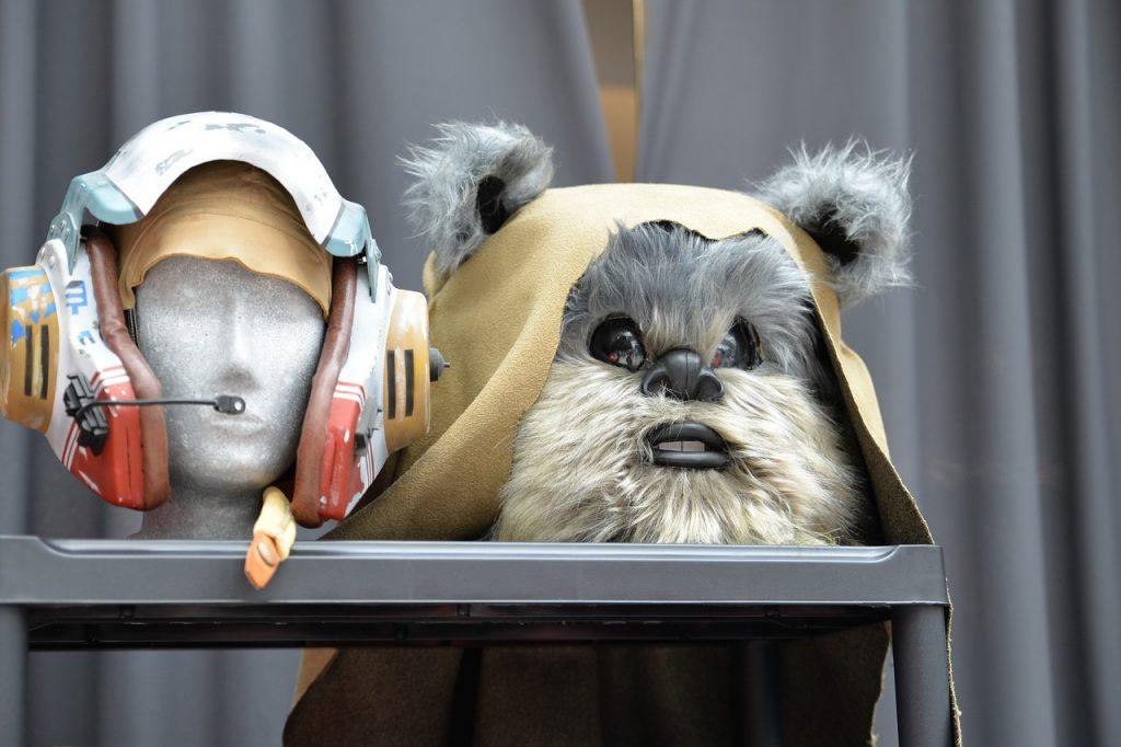 star wars unit study costumes helmet and ewok mask